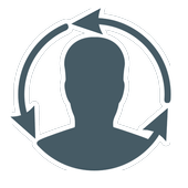 Deleted contact recovery icon