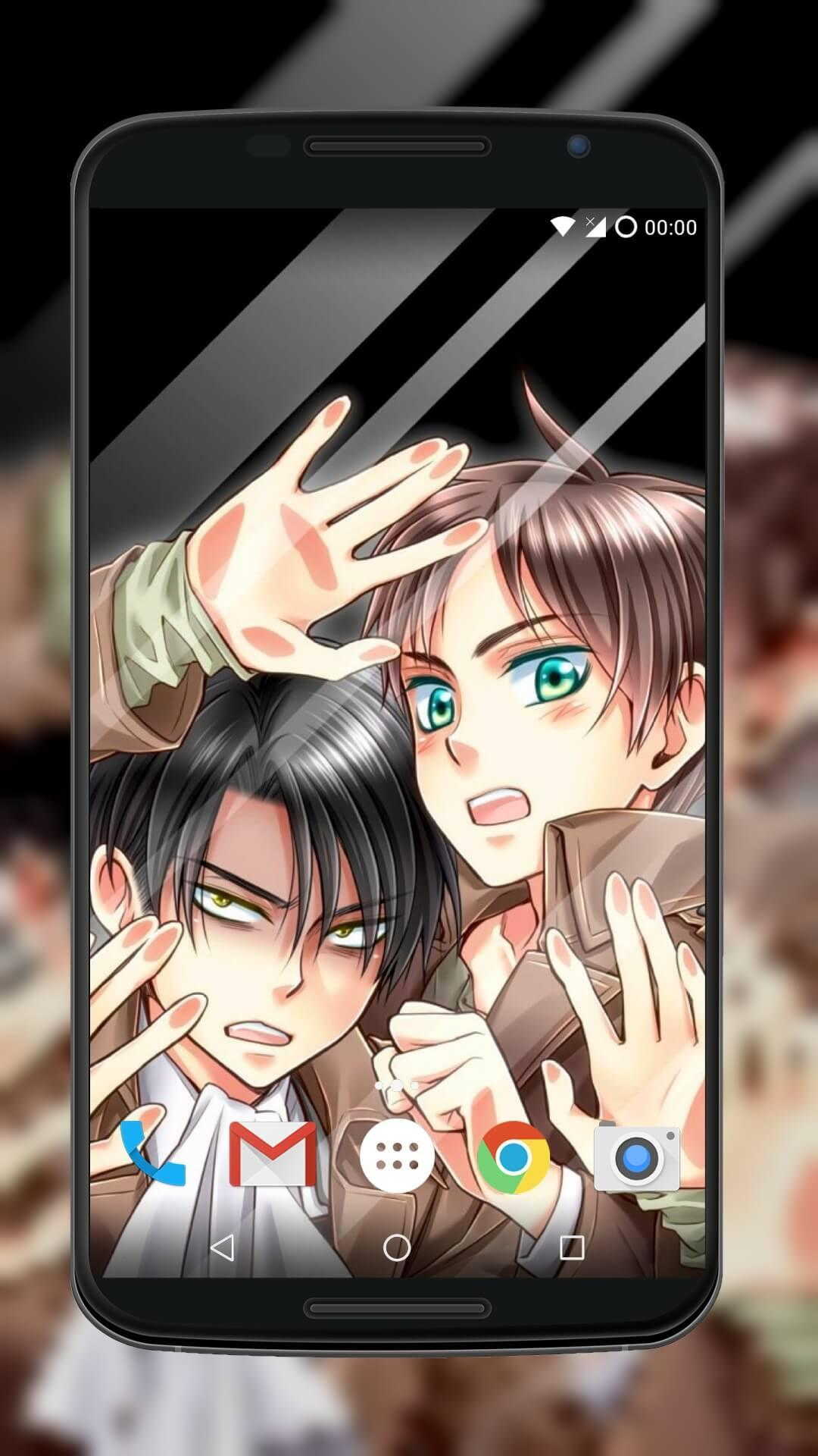 Wallpapers For Eren Levi Mikasa For Android Apk Download