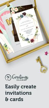 Invitation maker & Card design by Greetings Island poster