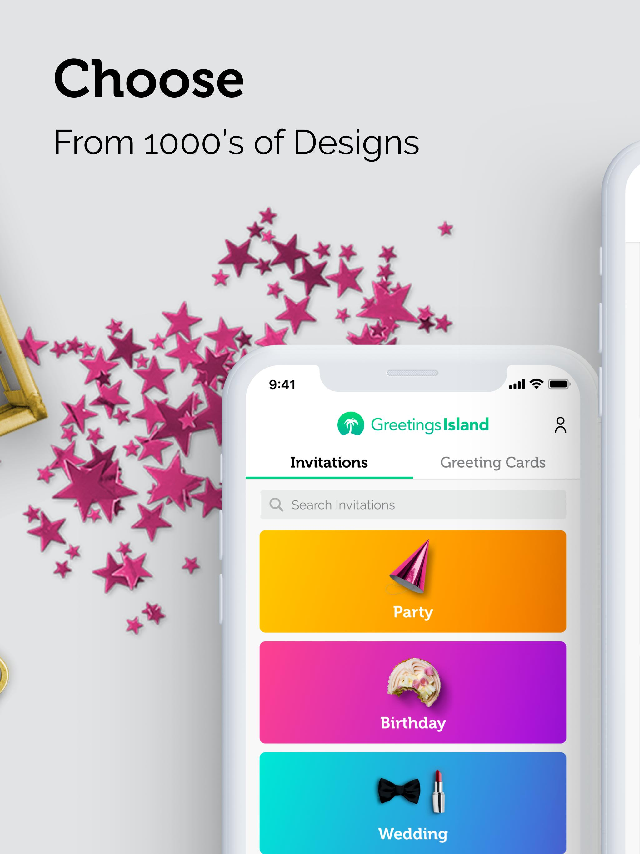 Invitation Card Maker Free By Greetings Island For Android