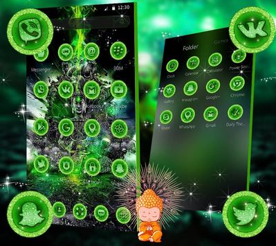 Green Lord Buddha Theme screenshot 1