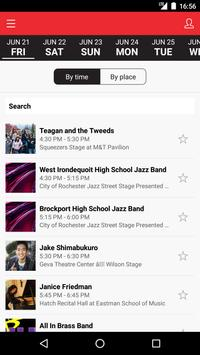 CGI Rochester Intl Jazz Fest screenshot 2
