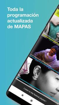 MAPAS Performing Arts Market poster