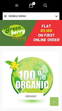 Greenberry Shopping poster