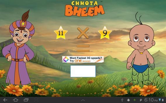Fun Math with Chhota Bheem poster