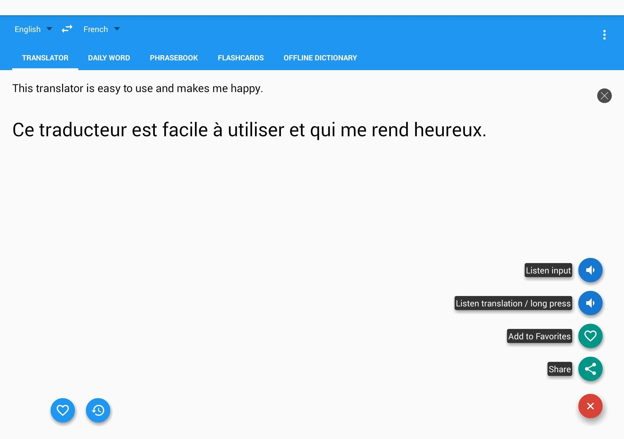 By Photo Congress    French English Dictionary App Free