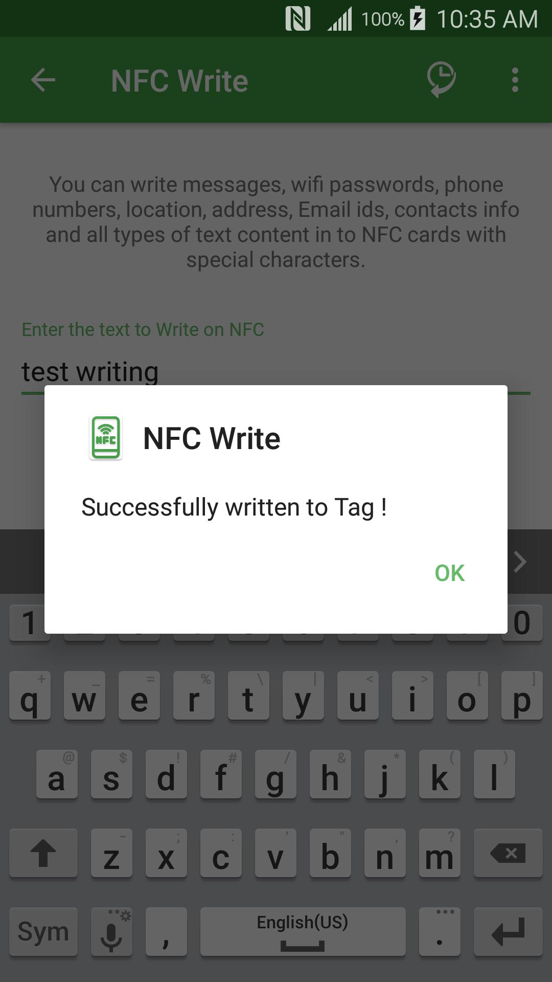 NFC/RF Reader and Writer for Android - APK Download