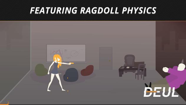 DEUL Classic Ragdoll Shooter screenshot 1