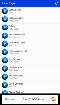 Calma (Remix) - Pedro Capó Musica screenshot 1
