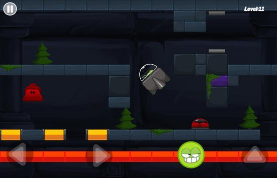 Green Mission - paint splash inside the cave story screenshot 1