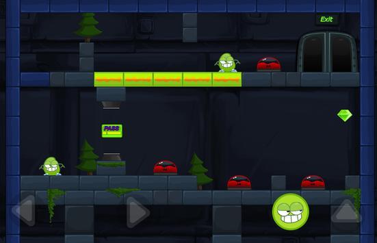 Green Mission - paint splash inside the cave story screenshot 7
