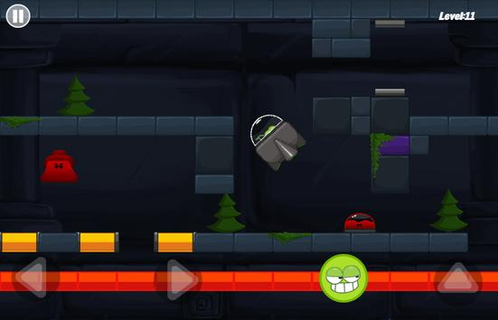 Green Mission - paint splash inside the cave story screenshot 5