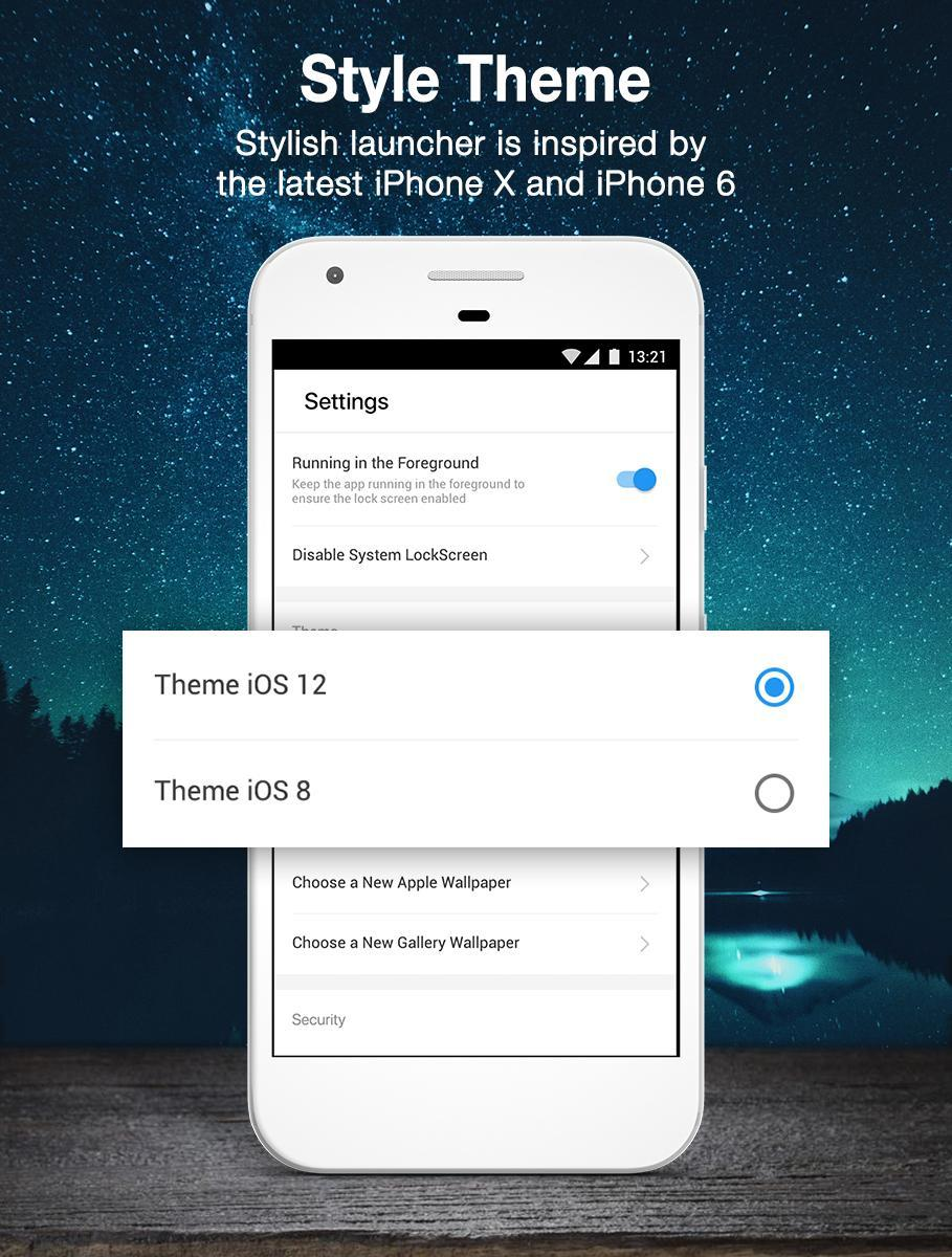 Lock screen OS12 for Android - APK Download