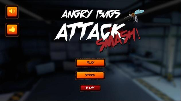 Angry Bugs Attack poster