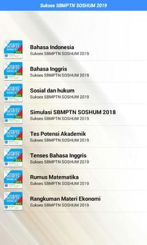 Sukses SBMPTN SOSHUM 2020 screenshot 1