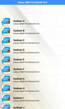Sukses SBMPTN SOSHUM 2020 screenshot 2