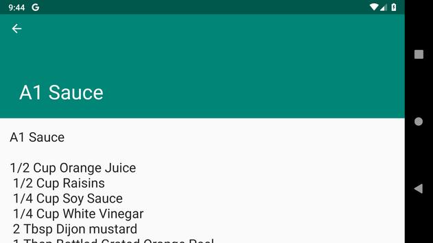 Restaurant Recipes screenshot 2