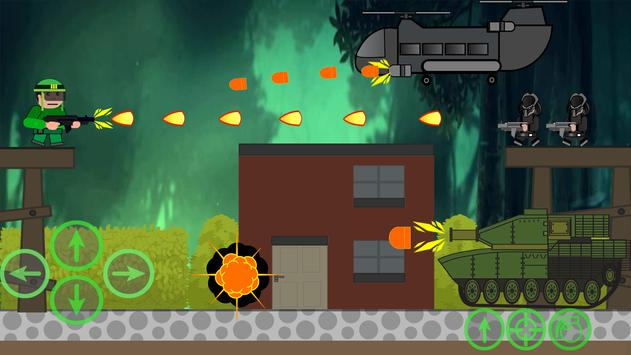 Hot Soldiers fire: great shooter screenshot 2