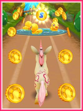 Unicorn Runner 3D screenshot 12