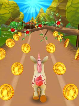 Unicorn Runner 3D screenshot 17