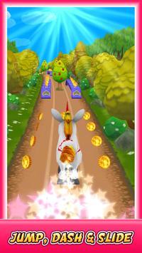 Unicorn Runner 3D screenshot 1