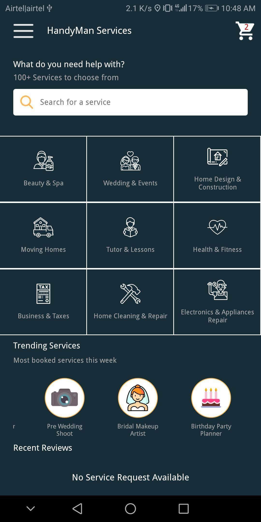 OnDemand Services App for Android - APK Download
