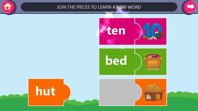 Kindergarten kids Learn Rhyming Word Games screenshot 23