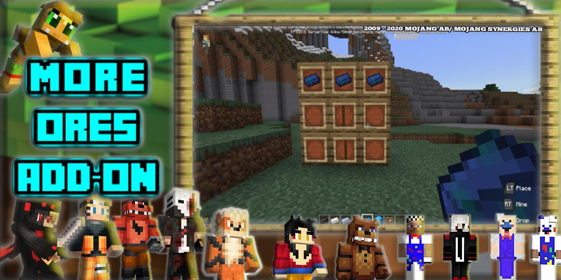 New Skins For MCPE: Casual Skins & Mods For Craft for Android - APK Download