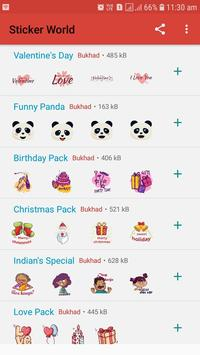 Sticker World - WAStickerApps screenshot 1