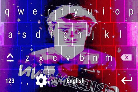 Antoine Griezmann Keyboard theme screenshot 1