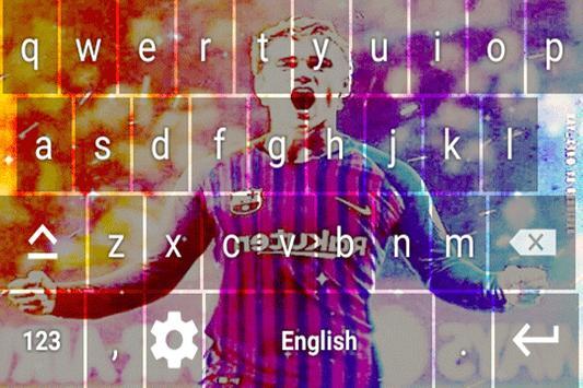 Antoine Griezmann Keyboard theme screenshot 2
