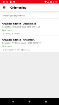 Grounded Kitchen poster