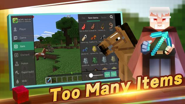 Master for Minecraft(Pocket Edition)-Mod Launcher ポスター