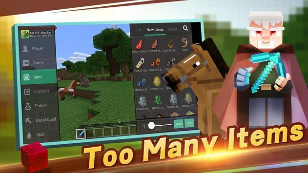 Master untuk mod-Minecraft PE poster