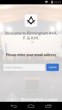 Birmingham #44 F. & A.M. screenshot 1