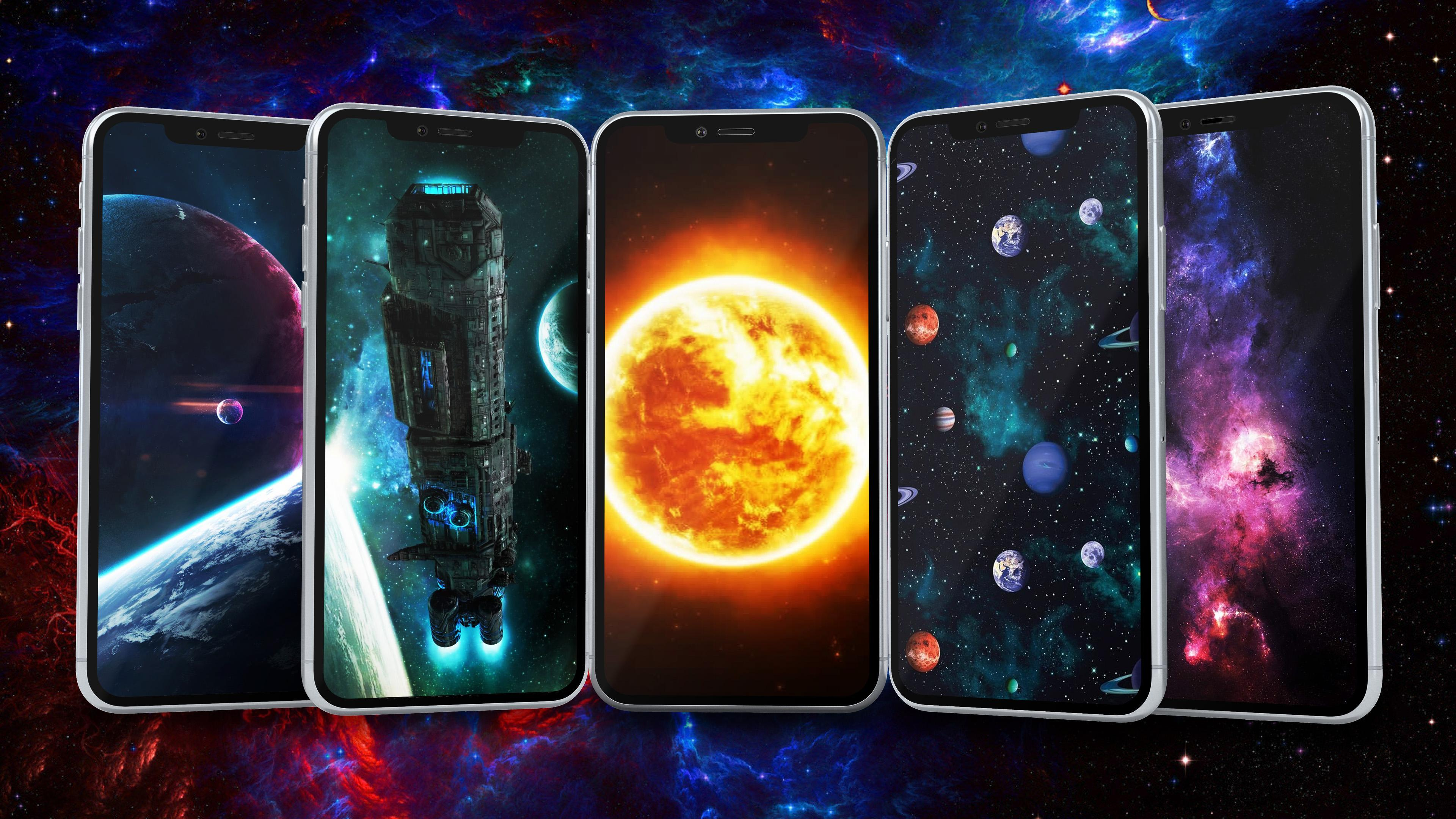 Space Wallpaper 4k Hd For Android Apk Download