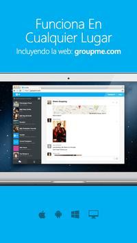 GroupMe captura de pantalla 4