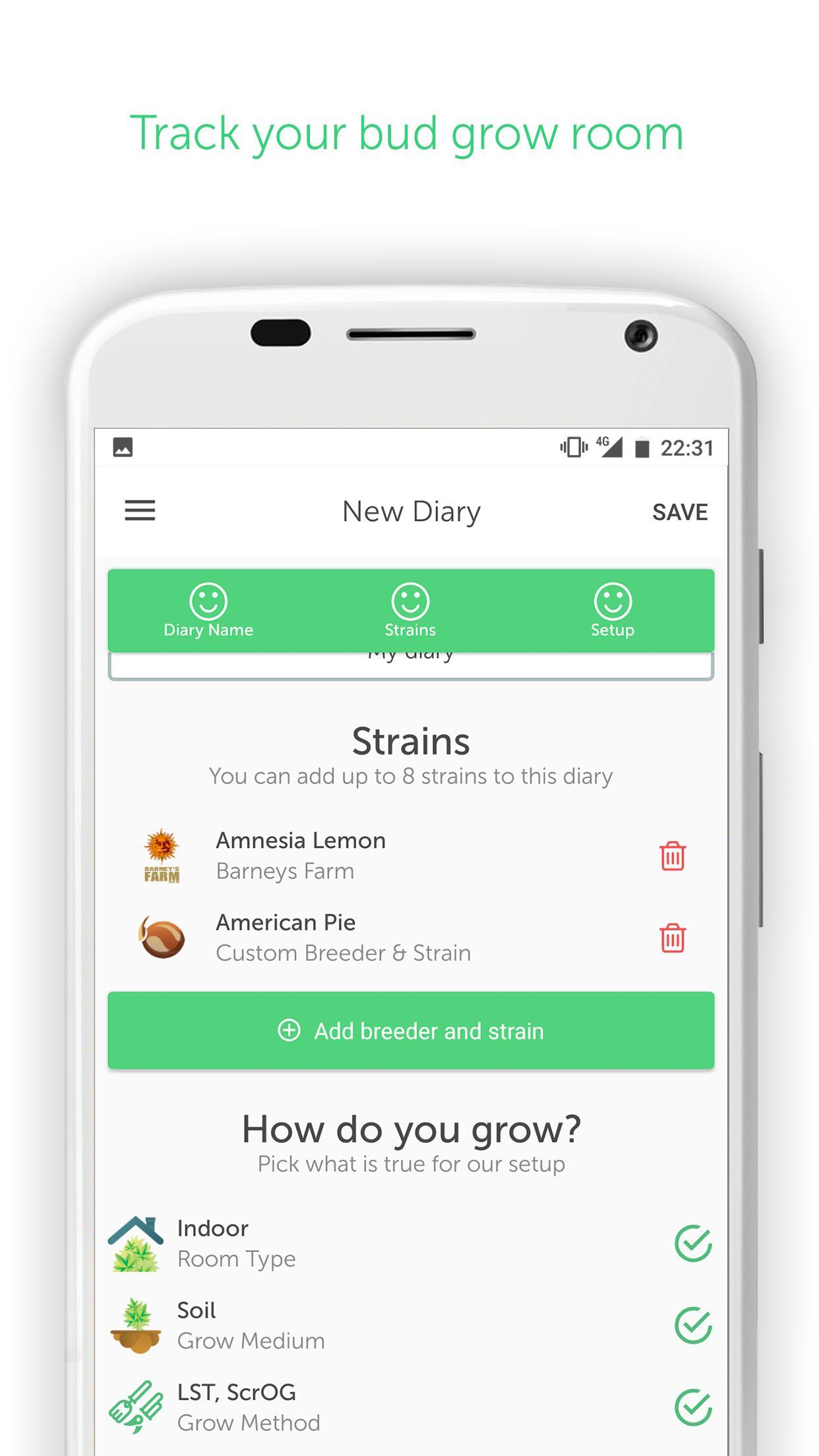 GrowDiaries for Android - APK Download