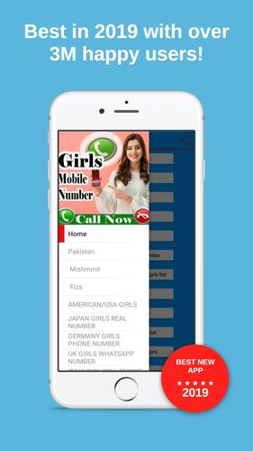 Girls Mobile Number search girl friend (Prank) for Android