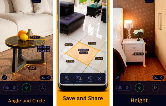 1 Schermata AR Ruler App – Tape Measure & Camera To Plan