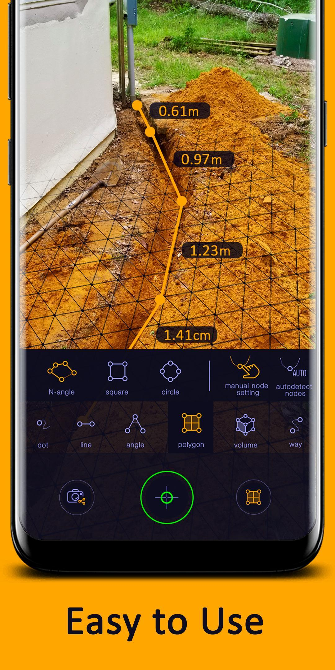 AR Ruler App – Tape Measure & Camera To Plan for Android
