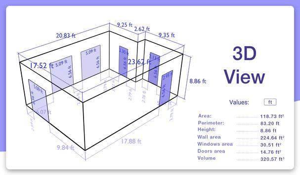AR Plan 3D Ruler – Camera to Plan, Floorplanner screenshot 4
