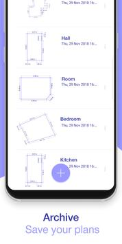 AR Plan 3D Ruler – Camera to Plan, Floorplanner स्क्रीनशॉट 7