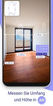 AR Plan 3D Lineal – Camera to Plan, Floorplanner Plakat