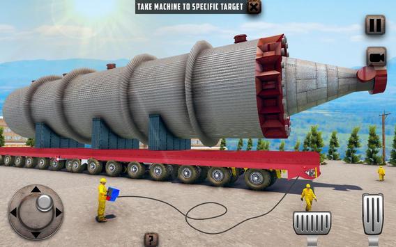 ओवरस्ड लोड लोड कार्गो ट्रक सिम्युलेटर 201 9 स्क्रीनशॉट 5