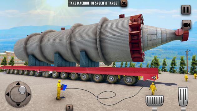 ओवरस्ड लोड लोड कार्गो ट्रक सिम्युलेटर 201 9 स्क्रीनशॉट 11