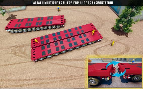 ओवरस्ड लोड लोड कार्गो ट्रक सिम्युलेटर 201 9 स्क्रीनशॉट 1