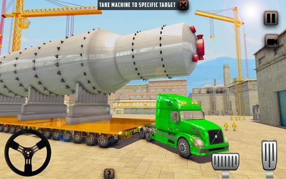 ओवरस्ड लोड लोड कार्गो ट्रक सिम्युलेटर 201 9 स्क्रीनशॉट 2