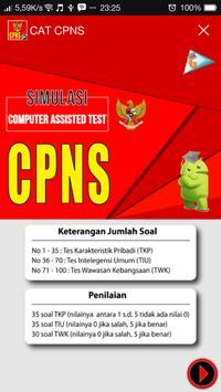 CAT CPNS screenshot 2