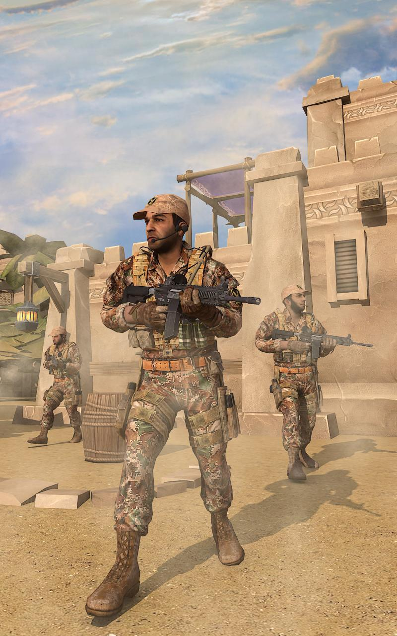 Super Army Frontline Commando FPS Mission 2019 for Android